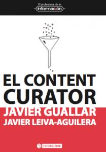Cubierta de El content curator
