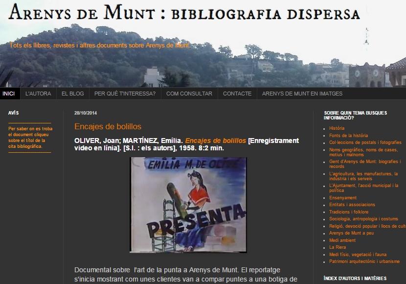 http://arenysdemuntbibliografiadispersa.blogspot.com.es/