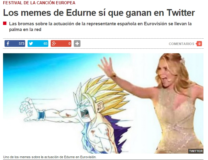 elperiodico - memes Edurne