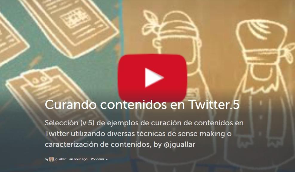 storify curando contenidos en Twitter v.5